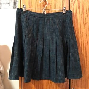 Vintage American Apparel wool plaid miniskirt M